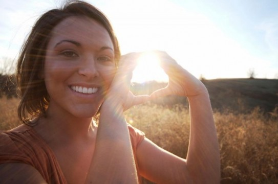 Woman-Vitamin-D-Sun-Nature-Smile
